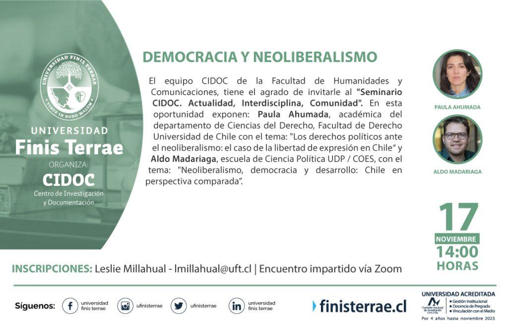Seminario CIDOC 17 noviembre